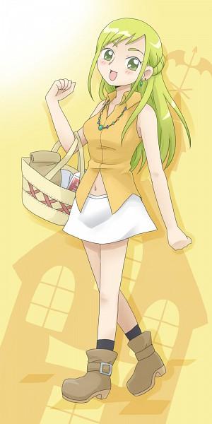 Tags: Anime, navy cat, Ojamajo DoReMi, Ojamajo DoReMi 16, Asuka Momoko, Fanart