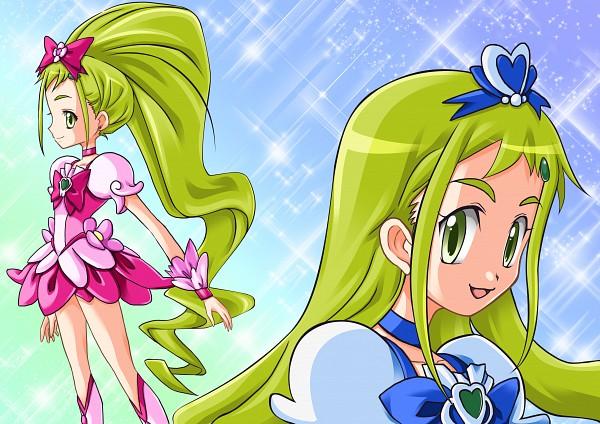Tags: Anime, Takamagahara Masayuki, Ojamajo DoReMi, Asuka Momoko, Cure Blossom (Cosplay), Cure Marine (Cosplay), Fanart, Pixiv, Fanart From Pixiv