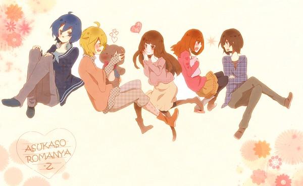 Tags: Anime, Pixiv Id 783456, Lon, Saine (Character), Soraru, MACCO (Character), Suzumu, Fanart, Nico Nico Douga, Nico Nico Singer, Pixiv, Asukasoromanya-z