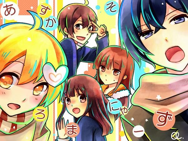 Tags: Anime, Pixiv Id 1906278, Saine (Character), MACCO (Character), Soraru, Suzumu, Lon, Nico Nico Douga, Nico Nico Singer, Asukasoromanya-z