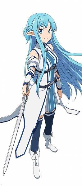 Tags: Anime, A-1 Pictures, Sword Art Online, Asuna (ALO), Yuuki Asuna, Official Art