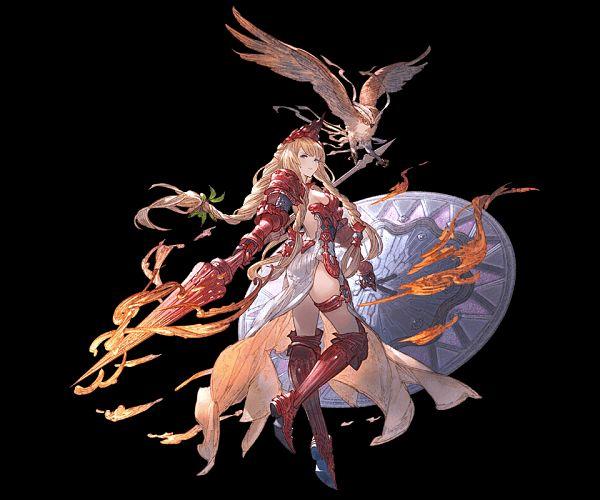 Athena (Shingeki no Bahamut) - Shingeki no Bahamut