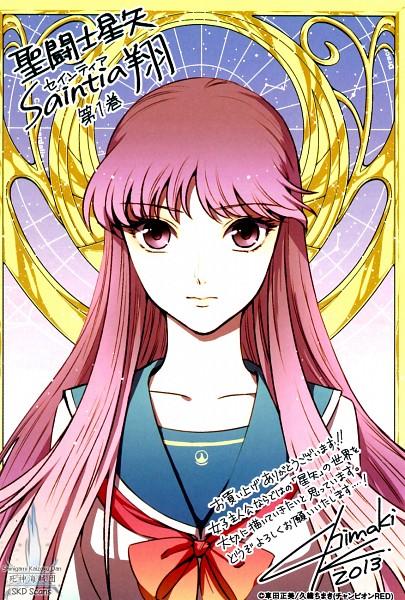 Tags: Anime, Kuori Chimaki, Saint Seiya: Saintia Shou, Athena Saori, Mobile Wallpaper