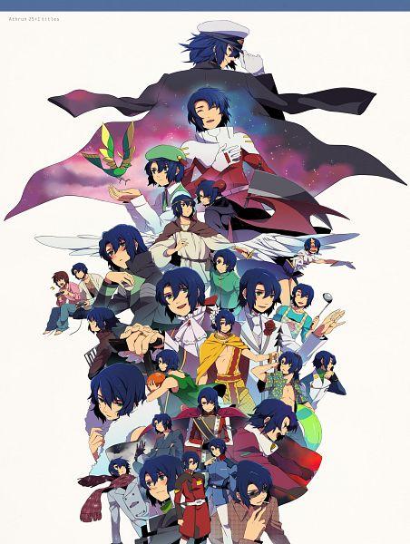 Tags: Anime, Yone (Eterno), Mobile Suit Gundam SEED, Athrun Zala, Kira Yamato, Ladle, Fanart, Pixiv