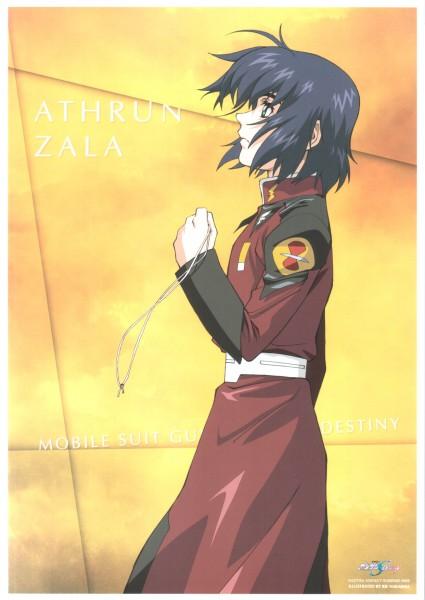 Tags: Anime, Mobile Suit Gundam SEED, Mobile Suit Gundam SEED Destiny, Athrun Zala, Official Art
