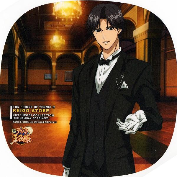 Tags: Anime, Tennis no Ouji-sama, New Prince of Tennis, Atobe Keigo, Kutsurogi Collection, Official Art, Hyotei Academy