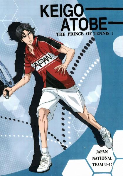 Tags: Anime, Tennis no Ouji-sama, New Prince of Tennis, Atobe Keigo, Official Art, Mobile Wallpaper