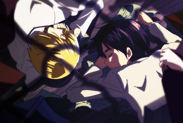 Tags: Anime, Mesushirindaa, Attack on Titan, Armin Arlert, Eren Jaeger, Eremin