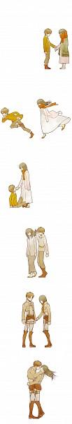 Tags: Anime, Pixiv Id 2443001, Attack on Titan, Eren Jaeger, Mikasa Ackerman, Age Progression, Tumblr, EreMika