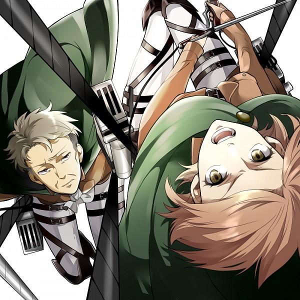 Tags: Anime, Pixiv Id 2669263, Attack on Titan, Auruo Bossard, Petra Ral, Fanart From Pixiv, Pixiv, Fanart, Auretra