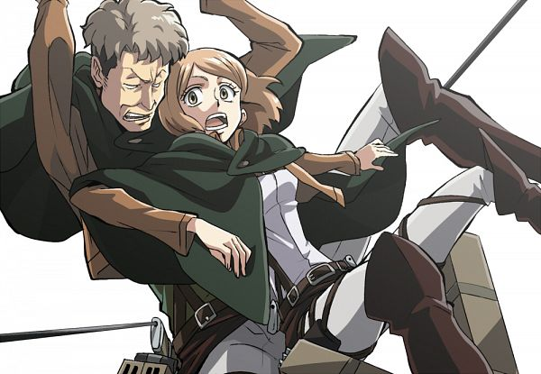 Tags: Anime, Mosamosa, Attack on Titan, Petra Ral, Auruo Bossard, Auretra