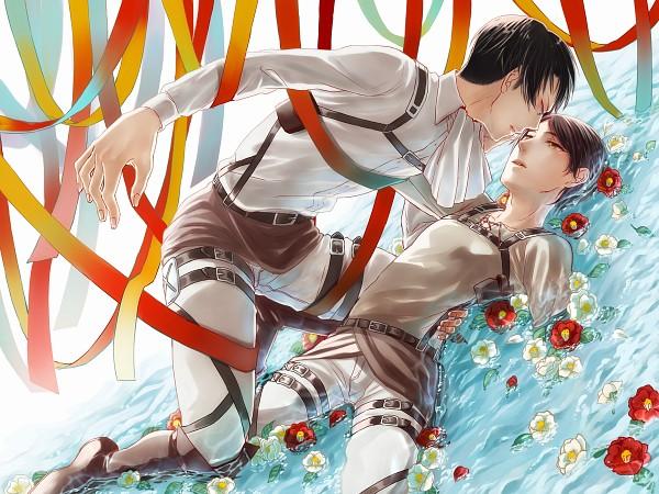 Tags: Anime, Pixiv Id 55458, Attack on Titan, Eren Jaeger, Levi Ackerman, Pixiv, EreRi