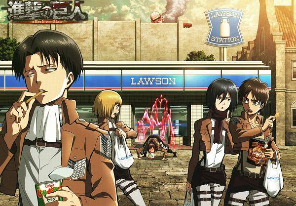 Tags: Anime, Tomita Megumi, WIT STUDIO, Titan (Shingeki no Kyojin), Eren Jaeger, Lawson