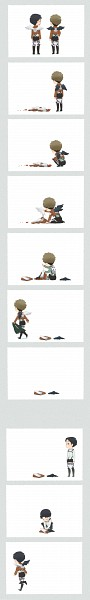 Tags: Anime, Pixiv Id 3310192, Attack on Titan, Marco Bodt, Jean Kirschstein, PNG Conversion, Pixiv, Comic, JeanMarco