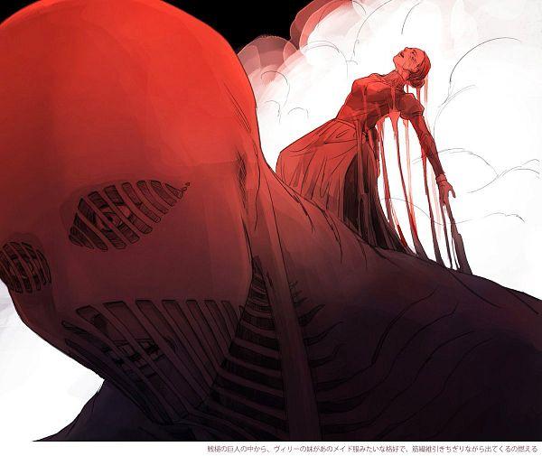 Tags: Anime, Pixiv Id 1118243, Attack on Titan, Titan (Shingeki no Kyojin), Lara Tybur, War Hammer Titan, Fanart, Fanart From Pixiv, After Shiganshina, Pixiv