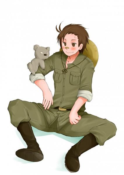 Tags: Anime, Axis Powers: Hetalia, Australia, Koala, Mobile Wallpaper, Oceania