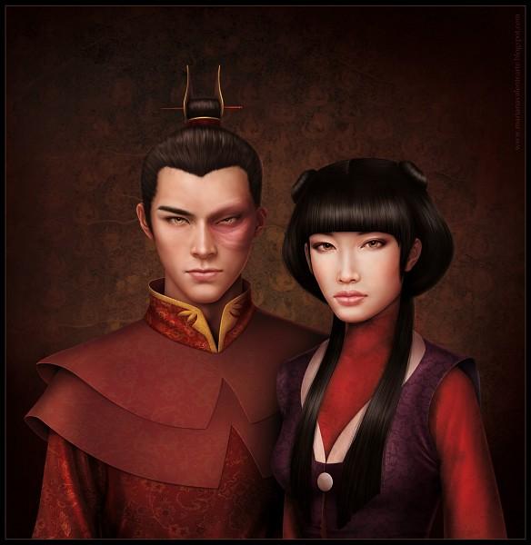 Tags: Anime, Avatar: The Last Airbender, Zuko, Mai (Avatar: The Last Airbender), Fanart, Maiko (Avatar Couple)