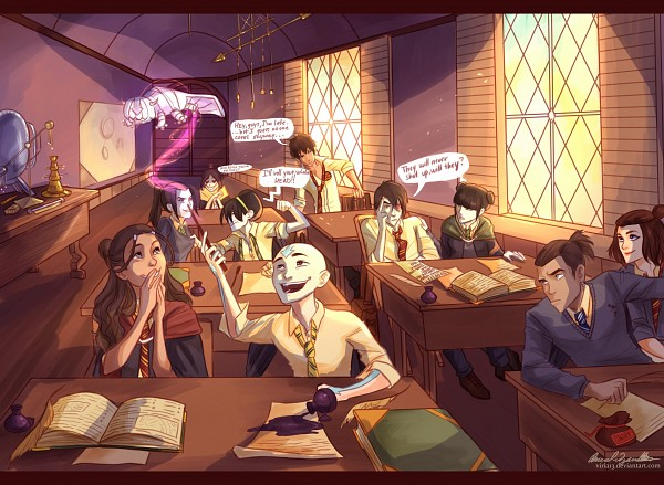 Tags: Anime, Viktoria Ridzel, Avatar: The Last Airbender, Harry Potter, Katara, Mai (Avatar: The Last Airbender), Appa, Azula, Suki, Ty Lee, Toph Bei Fong, Aang, Zuko