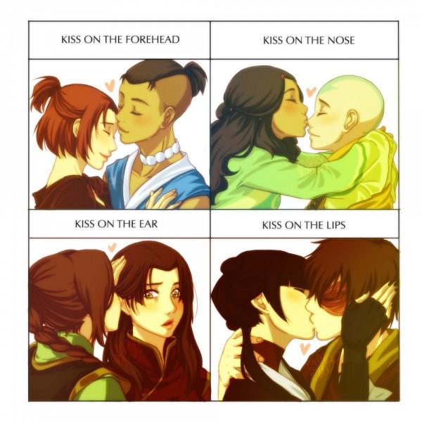 Tags: Anime, DS Hina, Avatar: The Last Airbender, Aang, Sokka, Suki, Katara, Mai (Avatar: The Last Airbender), Azula, Ty Lee, Zuko, Fanart From DeviantART, deviantART