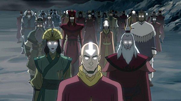 Tags: Anime, Avatar: The Last Airbender, Avatar: The Legend of Korra, Aang, Female Fire Avatar, Szeto, Roku (Avatar: The Last Airbender), Kyoshi, Kuruk, Female Water Avatar, Yangchen, Avatar State, HD Wallpaper