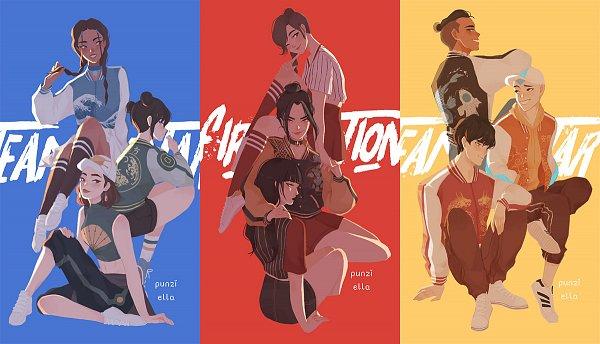 Tags: Anime, Punziella, Avatar: The Last Airbender, Katara, Suki, Mai (Avatar: The Last Airbender), Azula, Ty Lee, Toph Bei Fong, Aang, Zuko, Sokka, Blind
