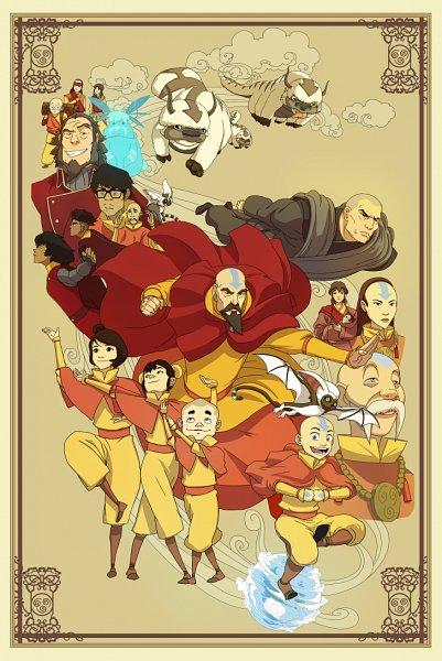 Tags: Anime, Shane Sandulak, Avatar: The Last Airbender, Avatar: The Legend of Korra, Momo (Avatar: The Last Airbender), Bumi II (Avatar: The Legend of Korra), Tenzin, Aang, Ikki (Avatar: The Legend of Korra), Gyatso, Appa, Pema, Kai (Avatar - Korra)