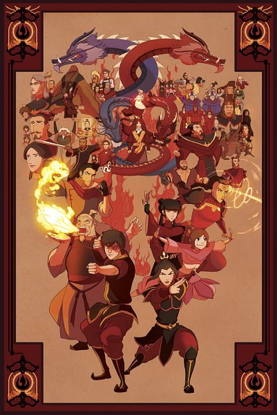 Tags: Anime, Shane Sandulak, Avatar: The Legend of Korra, Avatar: The Last Airbender, Iroh, Shaw (Avatar), Piandao, Ty Lee, Iroh II (Avatar: The Legend of Korra), Ran (Avatar), June (Avatar), P'Li, Azula