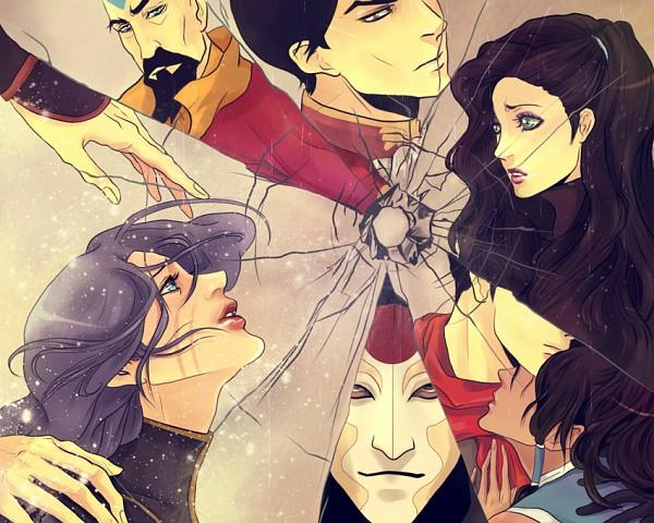 Tags: Anime, Purple-Meow, Avatar: The Legend of Korra, Amon (Avatar: The Legend Of Korra), Korra, Sato Asami, Tenzin, Iroh II (Avatar: The Legend of Korra), Mako (Avatar: Legend Of Korra), Lin Bei Fong, Fragments, deviantART, Fanart