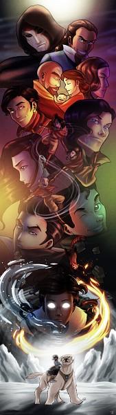 Tags: Anime, Tiuanarui, Avatar: The Legend of Korra, Ikki (Avatar: The Legend of Korra), Tenzin, Amon (Avatar: The Legend Of Korra), Pema, Bolin, Pabu (Legend of Korra), Korra, Sato Asami, Mako (Avatar: Legend Of Korra), Tahno