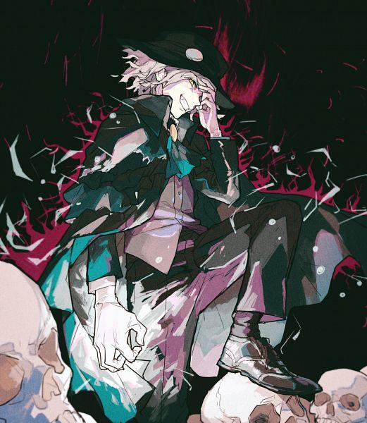 Tags: Anime, Pixiv Id 26729452, Fate/Grand Order, Avenger (Edmond Dantès), Dark Aura, Aura, Pixiv, Fanart, Fanart From Pixiv