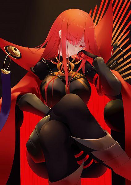 Tags: Anime, Pixiv Id 12845286, Fate/Grand Order, Majin Archer, Avenger (Maou Nobunaga), Fanart, Fanart From Pixiv, Pixiv