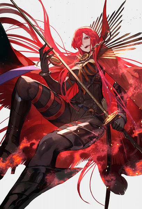 Tags: Anime, lack, Fate/Grand Order, Avenger (Maou Nobunaga), Majin Archer, Fanart From Pixiv, Pixiv, Fanart