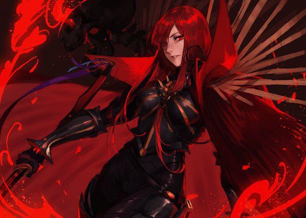 Tags: Anime, Pixiv Id 3675380, Fate/Grand Order, Avenger (Maou Nobunaga), Majin Archer, Pixiv, Fanart, Fanart From Pixiv