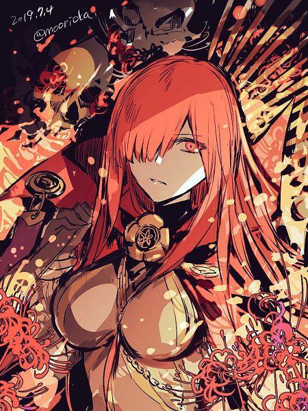 Tags: Anime, rioka (Southern Blue Sky), Fate/Grand Order, Avenger (Maou Nobunaga), Majin Archer, Fanart From Pixiv, Pixiv, Fanart