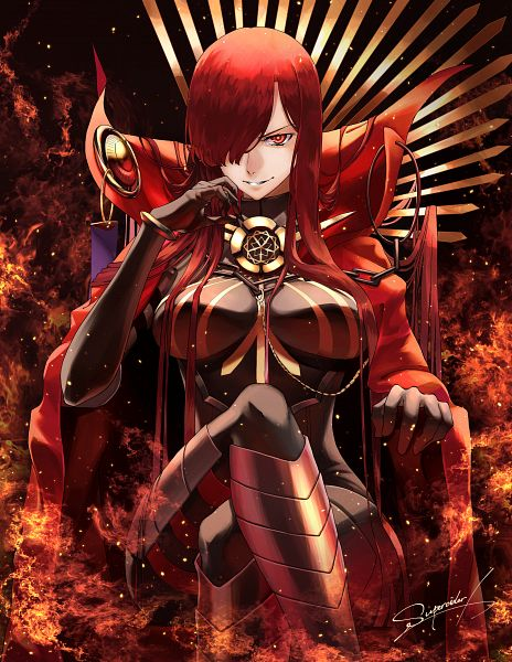 Tags: Anime, Pixiv Id 31423244, Fate/Grand Order, Majin Archer, Avenger (Maou Nobunaga), Fanart From Pixiv, Pixiv, Fanart