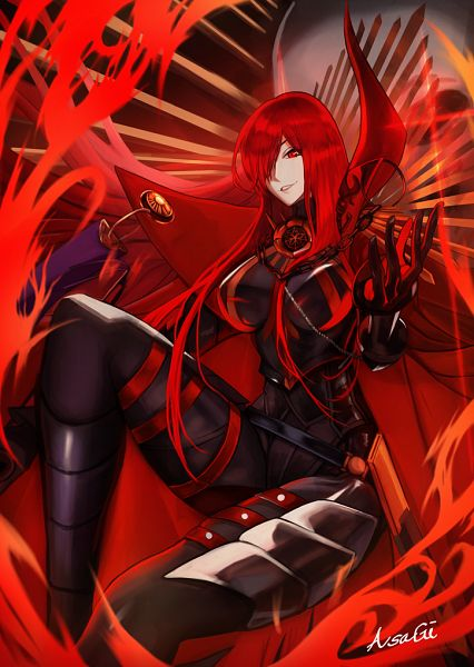 Tags: Anime, Pixiv Id 2957985, Fate/Grand Order, Majin Archer, Avenger (Maou Nobunaga), Pixiv, Fanart, Fanart From Pixiv