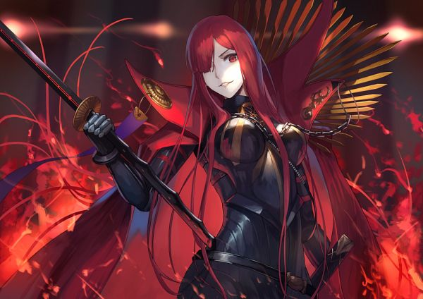 Tags: Anime, Maekawa Yuuichi, Fate/Grand Order, Avenger (Maou Nobunaga), Majin Archer, Fanart From Pixiv, Pixiv, Fanart