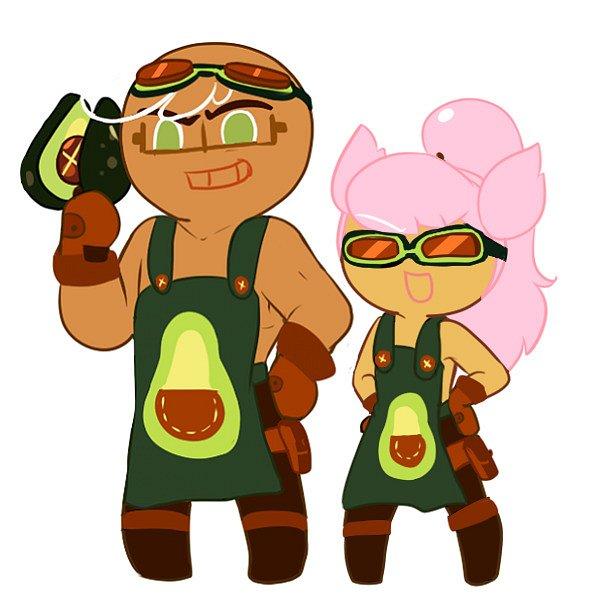 Avocado Cookie (Cosplay) - Avocado Cookie