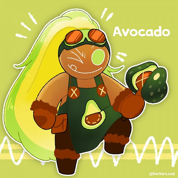 Tags: Anime, Darkerload, Cookie Run: OvenBreak, Avocado Cookie, Fanart From Pixiv, Pixiv, Fanart