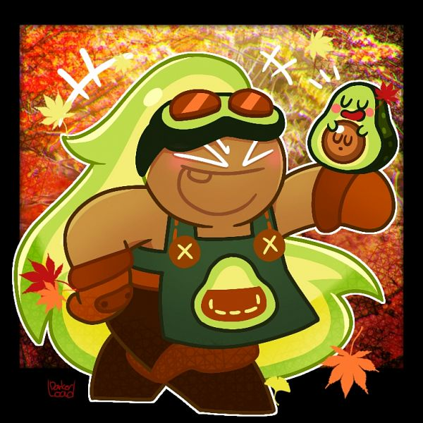 Tags: Anime, Darkerload, Cookie Run: OvenBreak, Cookie Run, Avocatapult, Avocado Cookie, Fanart From Pixiv, Pixiv, Fanart