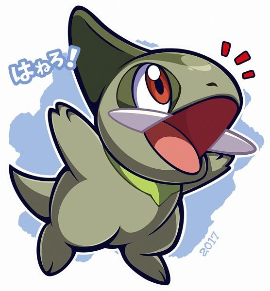 Tags: Anime, Woofzilla, Pokémon, Axew, Fanart From Pixiv, Fanart, Self Made, Pixiv