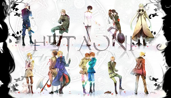 Tags: Anime, Hii101, Axis Powers: Hetalia, Hetaoni, Hungary, Spain, Japan, Ukraine, South Korea, France, Austria, Russia, South Italy
