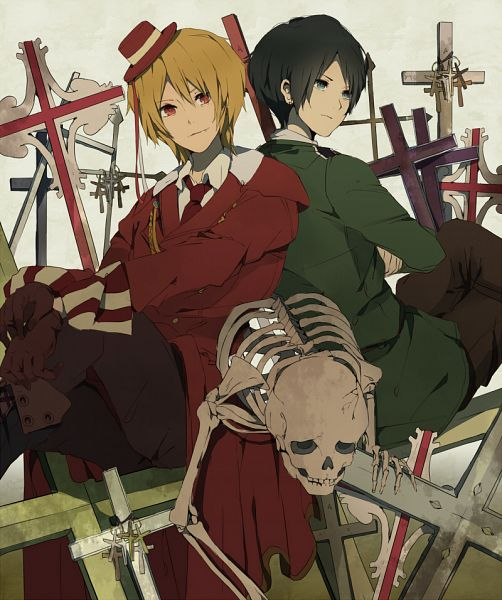 Tags: Anime, Pixiv Id 2239587, Axis Powers: Hetalia, Romania, Bulgaria, Pixiv, Fanart, Soviet Union
