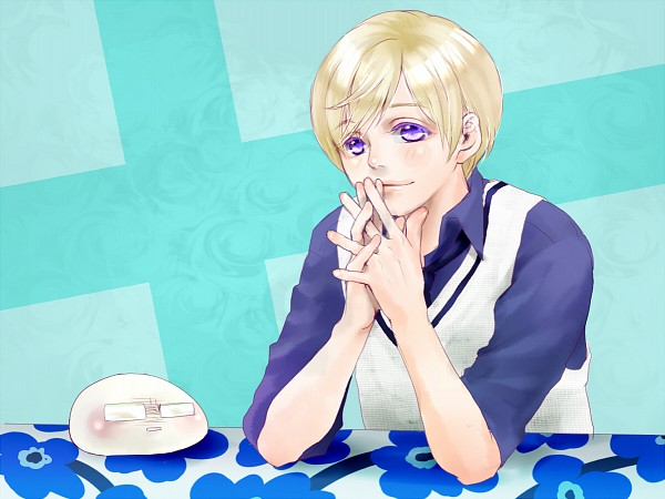 Tags: Anime, Pixiv Id 638133, Axis Powers: Hetalia, Mochisweden, Finland, Sweden, Fanart, Pixiv, Mochitalia, Fanart From Pixiv, Nordic Countries