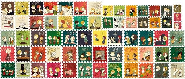 Tags: Anime, Pixiv Id 54944, Axis Powers: Hetalia, Taiwan, Australia, Russia, Sweden, Iceland, France, South Korea, North Italy, Romania, Turkey
