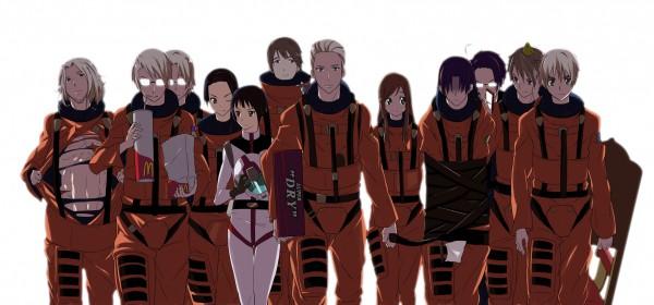 Tags: Anime, Toru K, Axis Powers: Hetalia, Germany, South Korea, Hungary, Canada, North Italy, France, Austria, Russia, Greece, Japan