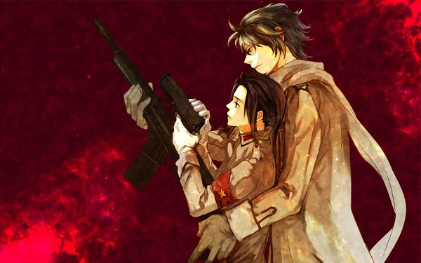 Tags: Anime, Lolisamurai, Axis Powers: Hetalia, Russia, China, Aiming Up, Wallpaper, Allied Forces, RoChu, Asian Countries, Soviet Union