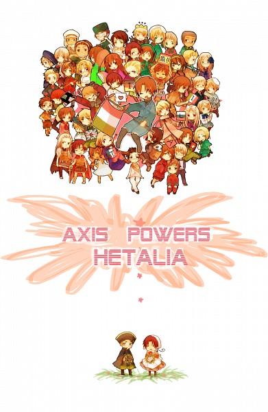 Tags: Anime, Axis Powers: Hetalia, South Korea, France, Vietnam, Egypt, Ukraine, Rome, Monaco, Switzerland, Germany, Holy Roman Empire, Russia