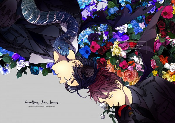 Tags: Anime, Uta325, Axis Powers: Hetalia, United Kingdom, United States, Thinking, PNG Conversion, Fanart, Pixiv, Fanart From Pixiv, Allied Forces