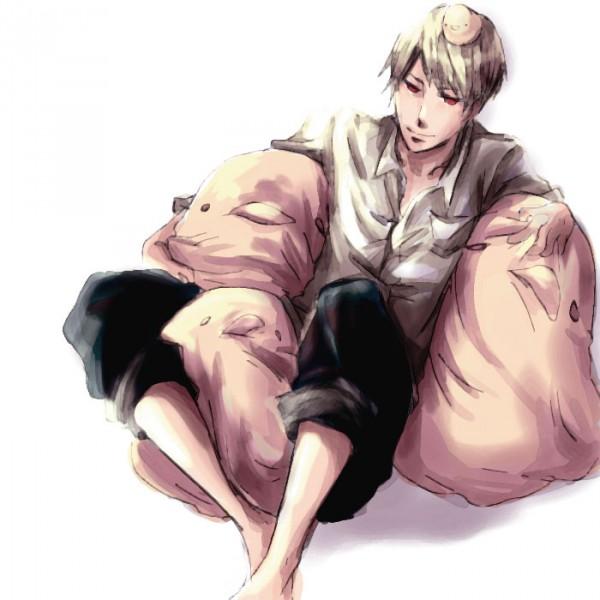 Tags: Anime, Axis Powers: Hetalia, Gilbird, Prussia, Artist Request